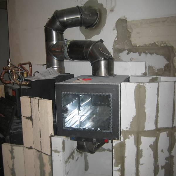 Wasserführende Kamine München Bau Design